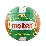 MOLTEN V5B1500 - Balón de voleibol, color verde, tamaño 5
