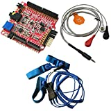 SHIELD-EKG-EMG + SHIELD-EKG-EMG-PA + SHIELD-EKG-EMG-PRO Arduino Elektrokardiographie EKG und EMG Electromiography Schild