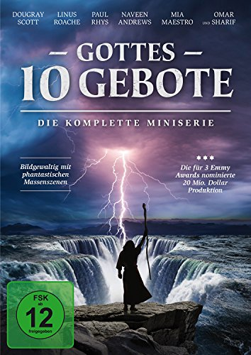 Gottes 10 Gebote - Die komplette Miniserie [2 DVDs]