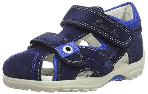 Lurchi Molo, Jungen Geschlossene Sandalen, Blau (navy 42), 22 EU