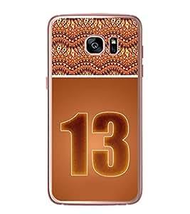 Fuson Designer Back Case Cover for Samsung Galaxy S7 Edge :: Samsung Galaxy S7 Edge Duos :: Samsung Galaxy S7 Edge G935F G935 G935Fd (designer pattern theme rangoli art )