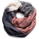 NavyBlu® Loop Schal Schlauchschal mit Farbverlauf Design in weicher und wertiger Qualität A06
