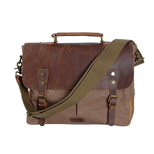 WEGWANG - Riñonera marrón marrón