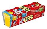 Feuchtmann Spielwaren 6280521 - Philipp die Maus Soft Knete, 4 Stück