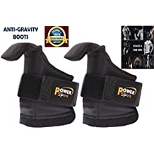 ANTI-Gravity Boots Inversion Boots POWER-BOOTS (Hang Up side Down) Inversion Table Chinning Bar, Pull Bar Attachement by POWER SPORTS