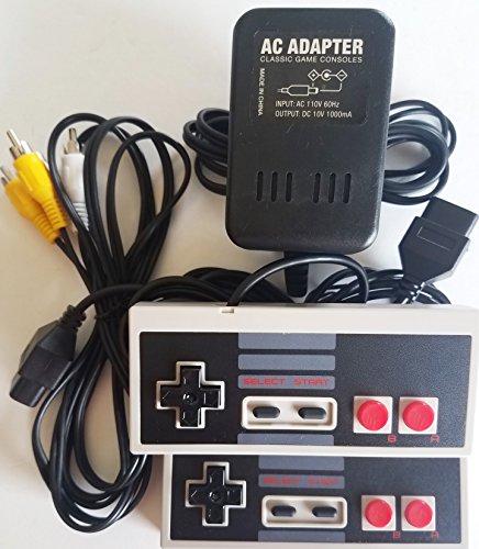Classic Game Source Inc. Ersatznetzkabel Kabel Adapter mit A / V-Audio-Video-Kabel und 2-Controller für Nintendo NES Bundle Pack von Classic Game Soure Inc.