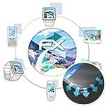 atFolix Schutzfolie passend für Oukitel K6000 Pro Folie, ultraklare & Flexible FX Bildschirmschutzfolie (3X)