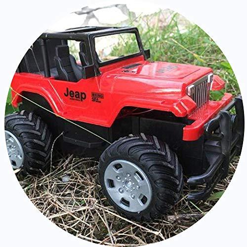 LIUQIAN Control Remoto Coche Juguete Todo Terreno niño Coche de policía eléctrico niños Camuflaje del Coche de Juguete Jeep 1:22 Control Remoto no Modelo Batt Ery 8.3 * 4,7 * 5.5 en