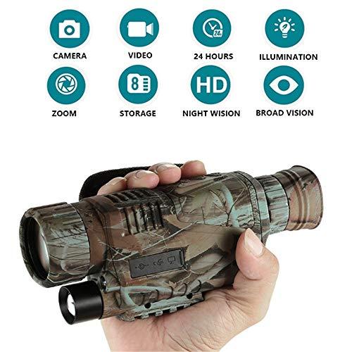 RENYAYA 5x40mm Digital Night Vision Monocular-Portable Infrared IR Camera Night Watching Hunting Observing Wildlife Security Surveillance Thermal-ir-kamera