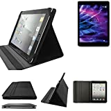 K-S-Trade High Quality für Medion Lifetab P9701 Schutz Hülle Business Case Tablet Schutzhülle Flip Cover Ultra Slim Bookstyle Tasche für Medion Lifetab P9701, Schwarz. Kunstleder Qualitätsware