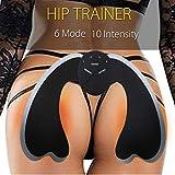 Grau Fengqi Aufkleber, 9 Teile/satz EMS Trainer Hüfte Heber Verstärker Muskel Ausbildung ABS Abnehmen Sexy Kit Sisit (Grau)