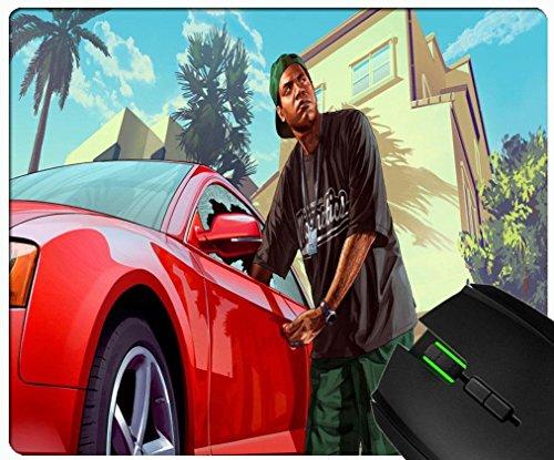 Preisvergleich Produktbild LAMAR Davis Grand Theft Auto V GTA Custom rechteckig Gummi Rutschfest und langlebig Fashion Maus Pad