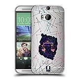Head Case Designs Waage Sternbild Der Sternzeichen Soft Gel Hülle für HTC One M8 / M8 Dual SIM