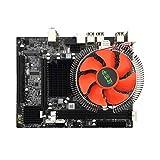 Yogatada Scheda Madre del PC Desktop X58 E5645 6Core CPU + Memoria 8G + Scheda Principale Ventola Mute