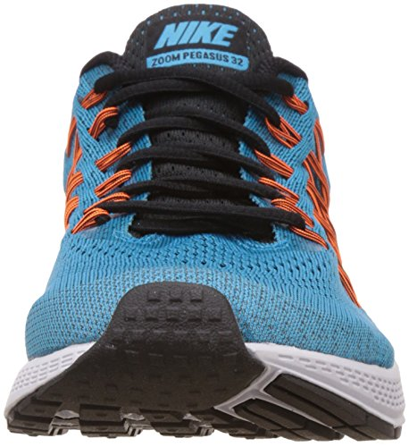 Nike Air Zoom Pegasus 32 Herren Laufschuhe Türkis (Blue Lagoon/Black/Bright Citrus/Total Orange)