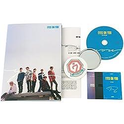 GOT7 Mini Album - Eyes on you [ YOU Ver. ] CD + Photobook + 3 Photocards + Lyrics Poster + FREE GIFT / K-Pop Sealed