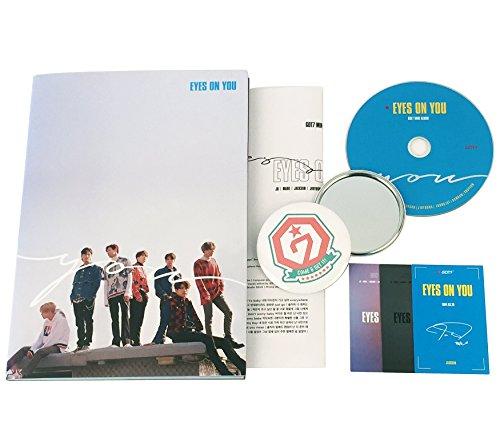 GOT7 Mini Album - Eyes on you [ YOU Ver. ] CD + Photobook + 3 Photocards + Lyrics Poster + FREE GIFT/K-Pop Sealed