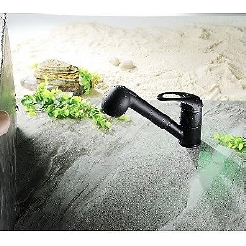 XMQC*Leva singola di Arco alto tirare giù rubinetto di cucina