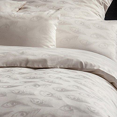 Estella Exquisit Damast Bettwäsche Junis 23510-110 elfenbein 100% Baumwolle