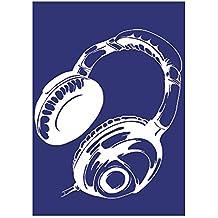 Rayher 4501700 - Plantilla de estarcido (lámina DIN A4, incluye raspador), diseño de auriculares
