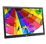 Digitaler Rahmen-dünner 17 Zoll-Noten-Knopf-elektronisches Album HDMI HD 15.7 * 10.4 * 0.9in