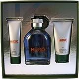 Hugo Boss homme/man, Geschenkset (Eau de Toilette 150 ml + After Shave Balsam 75 ml + Duschgel 50 ml), 1er Pack (1 x 3 Stück)