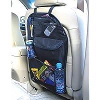 Kabalo Organizador para el coche, con bolsillos para coche, y Bebidas / Umbrella Holder y 7 compartimientos de almacenamiento velcro separadas. 55cm x 36cm