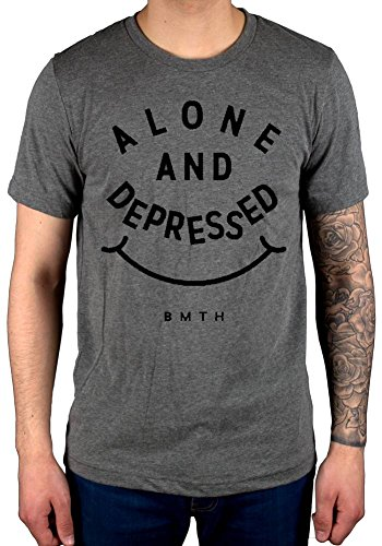 Official Bring Me The Horizon BMTH Alone & Depressed T-Shirt