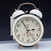 GHKLGY 4-inch metall wecker elektronische uhr alarm wunderschöne kreative wecker schüler uhr , B preisvergleich bei billige-tabletten.eu