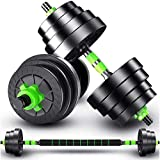 Top Power Lube 20Kg Dumbbells Pair of Gym Weights Barbell/Dumbbell Body Building 20KG SET