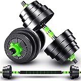 Top Power Lube 20 kg hantlar uppsättning gymvikter skivstång/hantel kroppsbyggnad 20 kg set