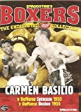 BOXING - Carmen Basilio v DeMarco 1955 in Syracuse & Boston- Becoming Vert Hard To Find - The Undisputed Dvd Collection