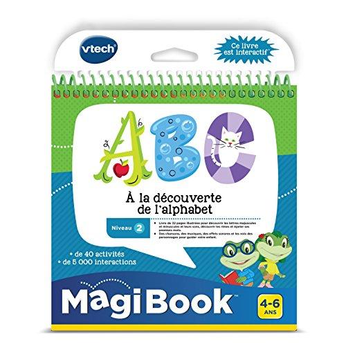 VTech - 480605 - MagiBook - ABC zu der Entdeckung der Alphabet - Audio-entdeckung