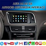 TAFFIO® Audi A4 A5 Q5 MMI 3G & 3G+ Android 7.1 2 GB Touchscreen GPS Navi USB SD Media