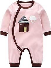 Minizone Baby Strampler Jungen Mädchen Schlafanzug Baumwolle Overalls Säugling Spielanzug Baby-Nachtwäsche