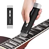 YGQersh Kit d'entretien pour outils de nettoyage de guitare pour basse électrique acoustique - Noir