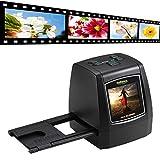 Film Slide Viewer Scanner,Miya®Filmnegativ und Foto konvertiert in digitale Dateien JPG   14 Megapixel(22MP Max) Scanner für 35mm Film Dias und Negativ,110 Film,126 Film 135 Film-Nicht enthalten SD-Karte