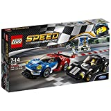 LEGO Speed Champions 75881 - 2016 Ford GT und 1966 Ford GT40