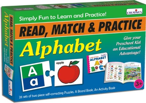 Creative Educational Aids 1043 Read, Match and Practice - Alphabet (New)
