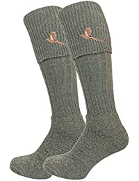 Bisley Pheasant breek socks in green or tweed