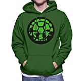 Cloud City 7 Ninja Turtles Shell Silhouettes TMNT Men's Hooded Sweatshirt