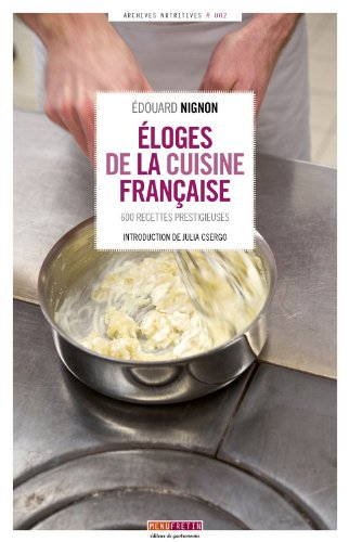 Eloges de la cuisine française