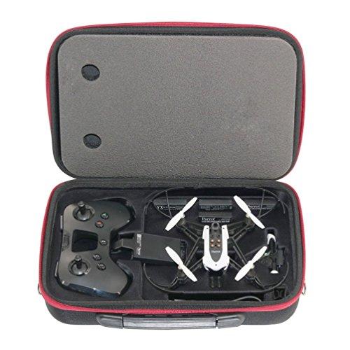 Anbee Hartschalenkoffer Schultertasche Kasten Case für Parrot Minidrone Mambo Drone und Flypad Fernbedienung