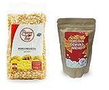 Popcornloop Premium Popcornmais 500g + Gewürz 'Nacho' 150g, Neuer & Leckerer...