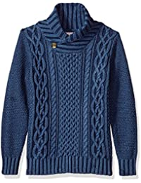 Lucky Brand Big Boys' Shawl Collar Sweater