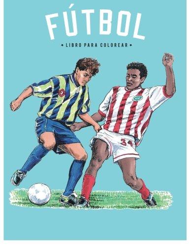Libro para Colorear de Futbol por Coloring Pages for Kids