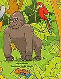 Telecharger Livres Livre de coloriage Animaux de la jungle 1 (PDF,EPUB,MOBI) gratuits en Francaise