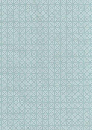 ecosoul Wachstuch Wachstischdecke Wachstuchtischdecke Andy Pastel Mint Breite 140cm türkis blau Schutzdecke Leinen Prägung Länge wählbar (1)