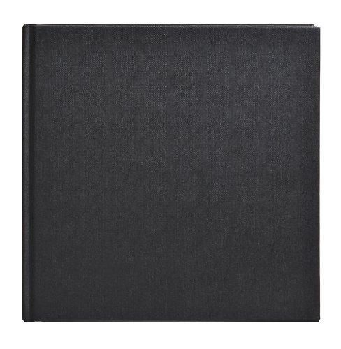 Clairefontaine Goldline 34260C - Quaderno per schizzi, carta collata, rilegatura con filo di cotone, quadrato 20 x 20 cm, 140 g, colore: Bianco