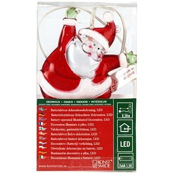 203 Konstsmide Noël 48 Acrylique 6172 Père Led BlancCâble tQrshdCx